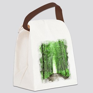 Cathedral Road Canvas Lunch Bag