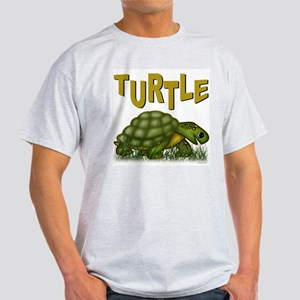 Happy Turtle Ash Grey T-Shirt