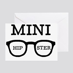 Mini hipster Greeting Card