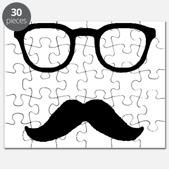 mustache and glasses Puzzle