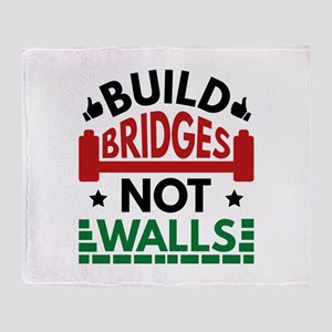 Build Bridges Not Walls Stadium Blanket