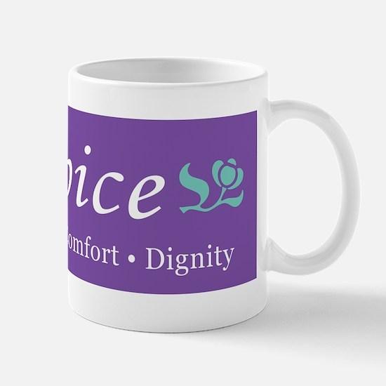 Hospice Bumper Sticker Mug