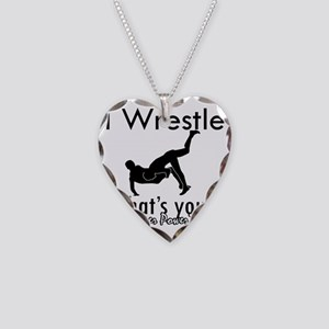 wrestle-freestyle Necklace Heart Charm