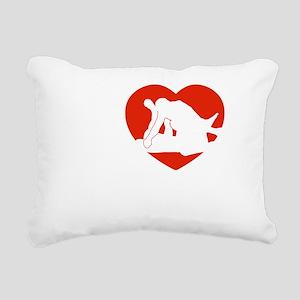 mma1 Rectangular Canvas Pillow