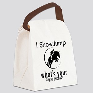 showjuming Canvas Lunch Bag