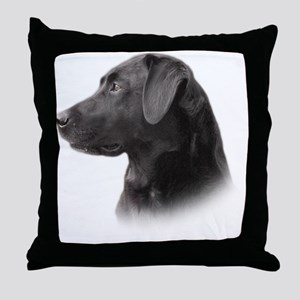 portrait7 Throw Pillow