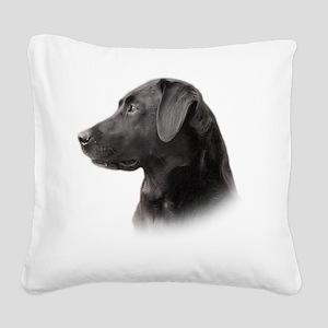 portrait7 Square Canvas Pillow