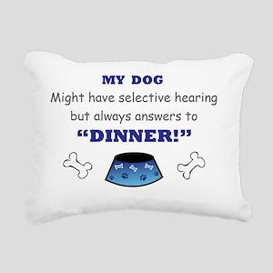 DOG Rectangular Canvas Pillow