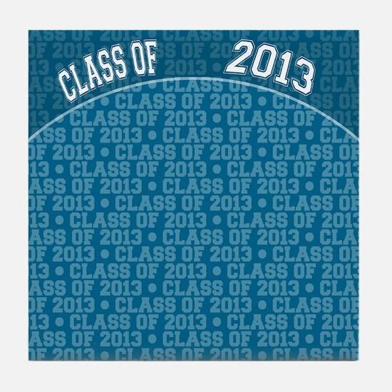 flip_flops_class_of_2013 Tile Coaster