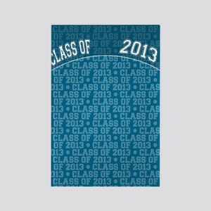 flip_flops_class_of_2013 Rectangle Magnet