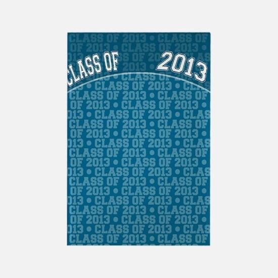 flip_flops_class_of_2013 Rectangle Magnet