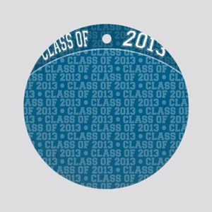 flip_flops_class_of_2013 Round Ornament