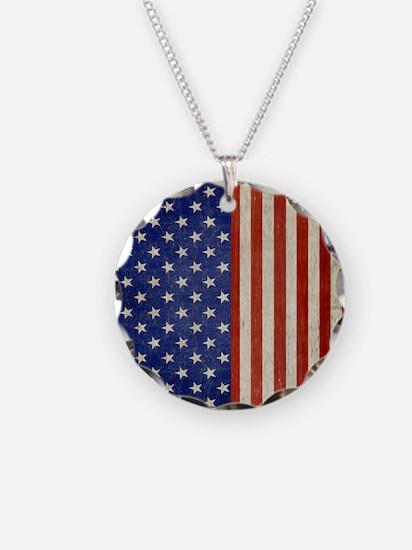 flip_flops_antique_american_ Necklace