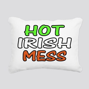 Hot Irish Mess Rectangular Canvas Pillow