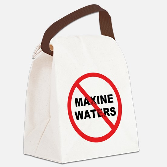 MAXINE WATERS Canvas Lunch Bag