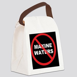 MAXINE WATERSD Canvas Lunch Bag