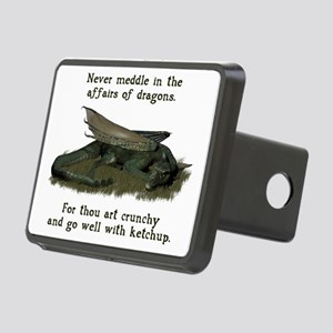 dragonaffairs Rectangular Hitch Cover