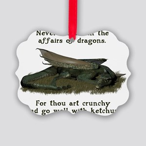 dragonaffairs Picture Ornament
