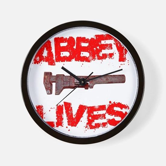 abbey_lives Wall Clock