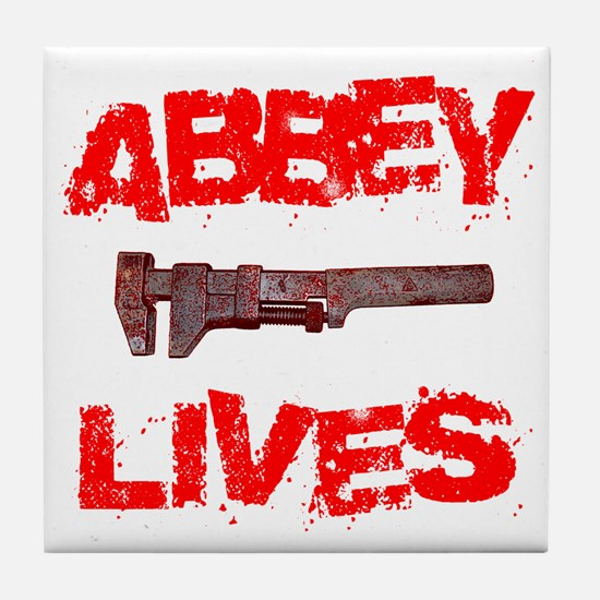 abbey_lives Tile Coaster