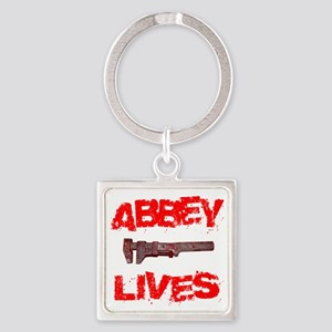 abbey_lives Square Keychain