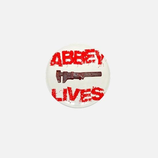 abbey_lives Mini Button