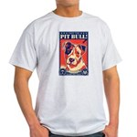 Obey the Pit Bull! USA Light T-Shirt