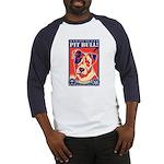 Obey the PIT BULL! USA Baseball Jersey