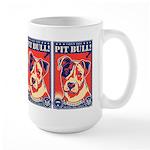 Obey the Pit Bull! USA Large Mug