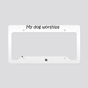 Dog License Plate Holder