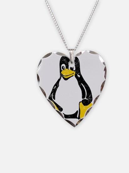 linux-tux-1 Necklace
