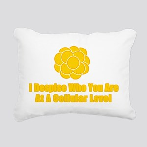 despise Rectangular Canvas Pillow