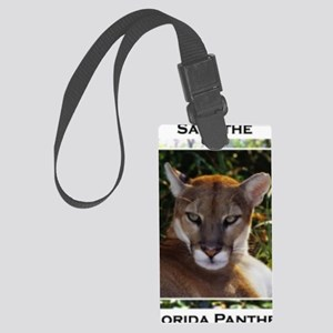 Florida Panther 820 Large Luggage Tag