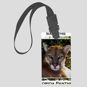 Florida Panther 820 Large Luggage Tag