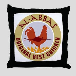 pal-chicken Throw Pillow