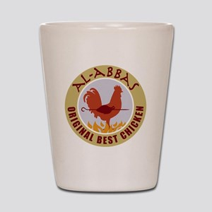 pal-chicken Shot Glass