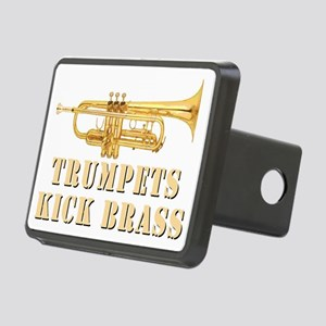 trumpetskickbrass_2_dark Rectangular Hitch Cover