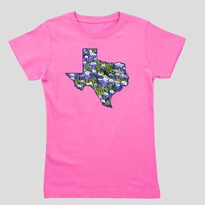 Texas Bluebonnets Girl's Tee