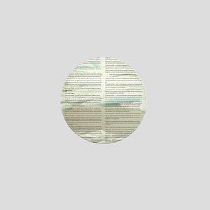 A World With CRPS - Memo Style 17 x 24 Mini Button