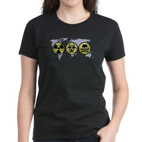 World hazards Women's Dark T-Shirt