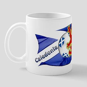 Scotland Caledonia Skiphat Mug