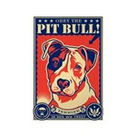 Obey the Pit Bull! USA Magnets (10 pack)