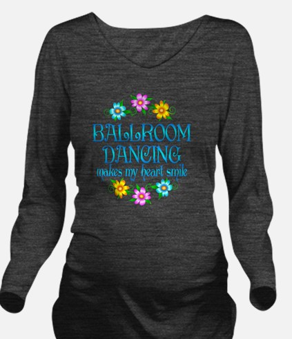 BALLROOM Long Sleeve Maternity T-Shirt