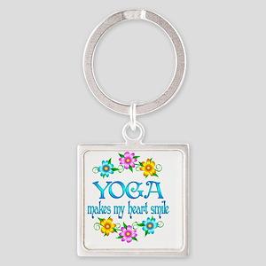 YOGA Square Keychain