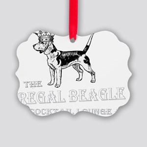 Regal Beagle Picture Ornament