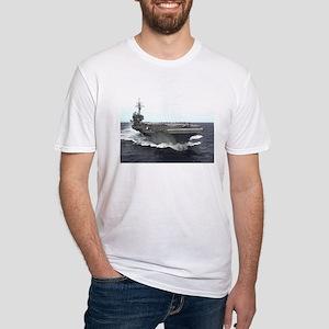 USS kitty Hawk CV63 Under Way shirt T-Shirt