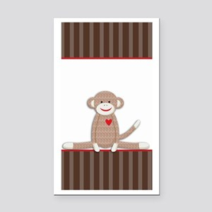 Sock Monkey iphone case Rectangle Car Magnet