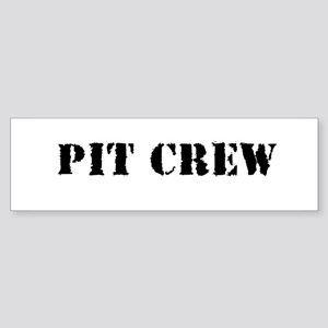 Pit Crew (Original) Bumper Sticker