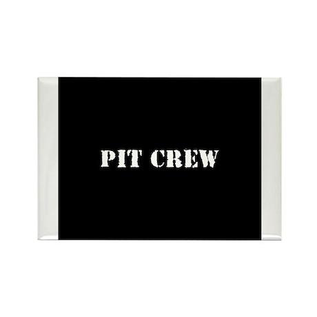 Pit Crew (Original) Rectangle Magnet (100 pack)
