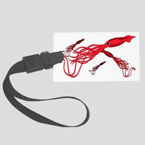 Giant_Squid_3_Multiple Large Luggage Tag